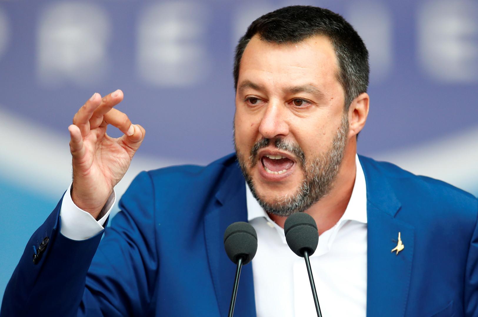 وزير الداخلية الإيطالي يحتفي بفوزه ويعد بإنقاذ الاتحاد الأوروبي وتغييره