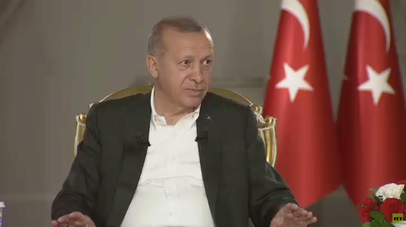 أردوغان : لا تراجع عن صفقة S400 مع روسيا