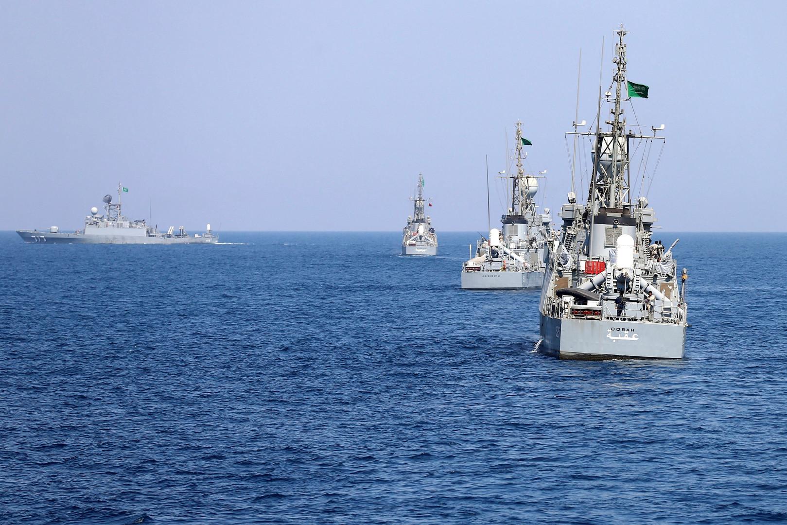 سفن حربية سعودية