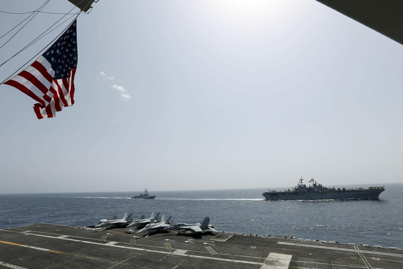 بالصور.. الولايات المتحدة تنفذ مناورات في الخليج بمشاركة