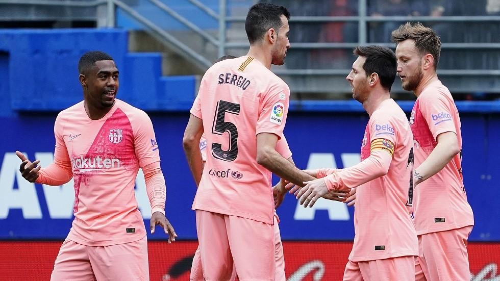 الدوري الإسباني.. برشلونة ينهي موسمه بتعادل مع ليفانتي (فيديو)