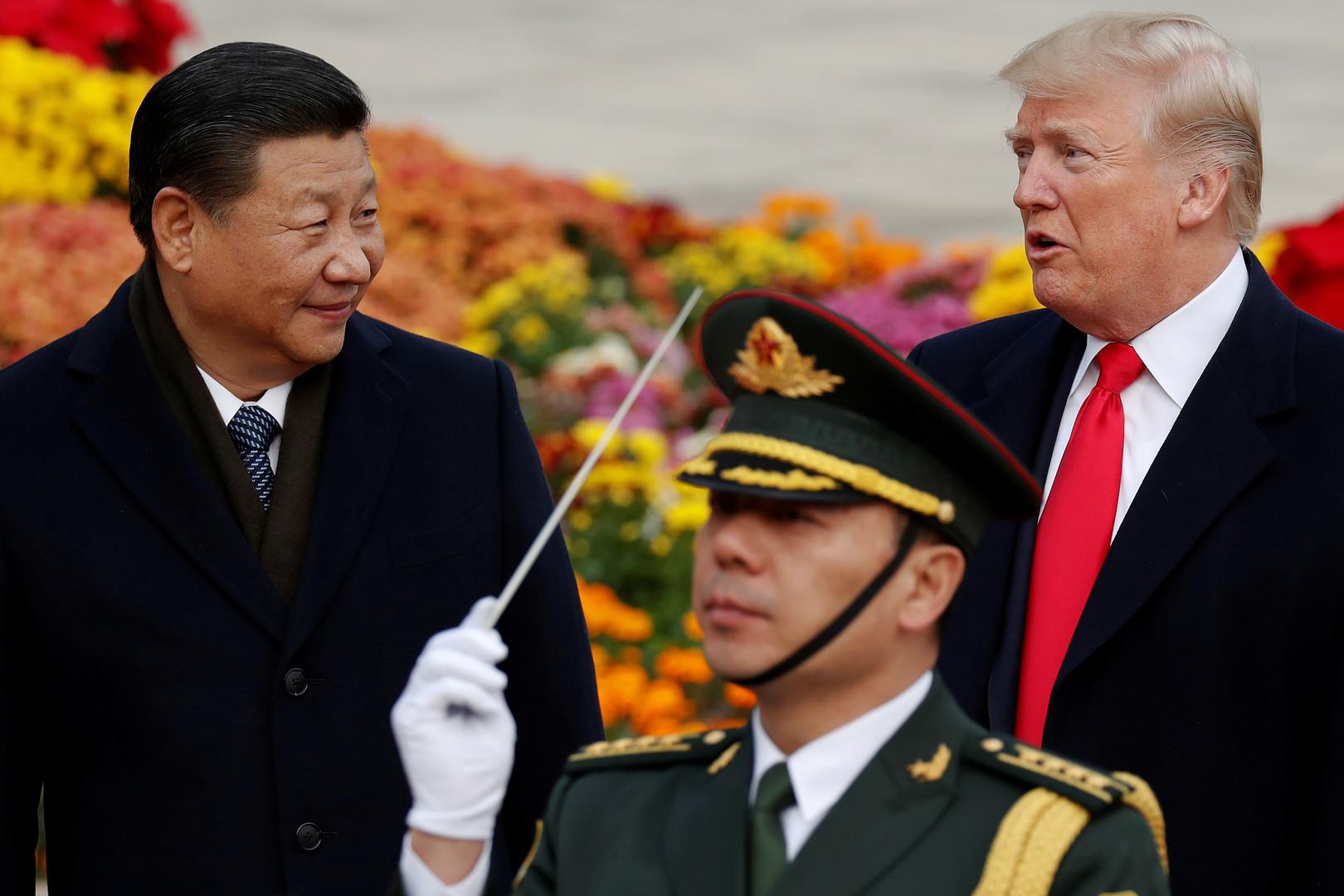 ترامب يتعهد بألا يسبق الاقتصاد الصيني نظيره الأمريكي