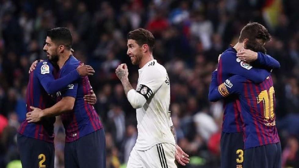 برشلونة يحقق رقما تاريخيا جديدا في الليغا على حساب ريال مدريد