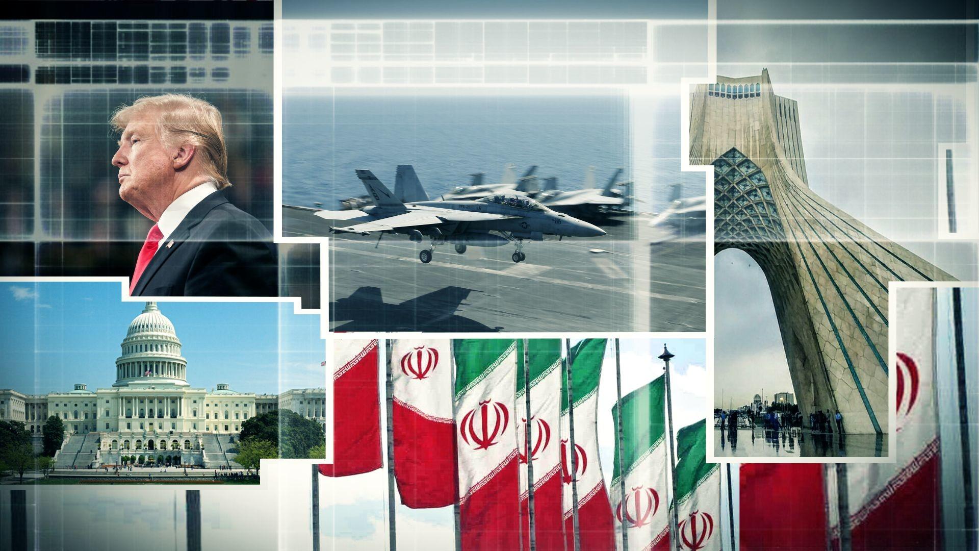 حرب الولايات المتحدة مع إيران تتأجل