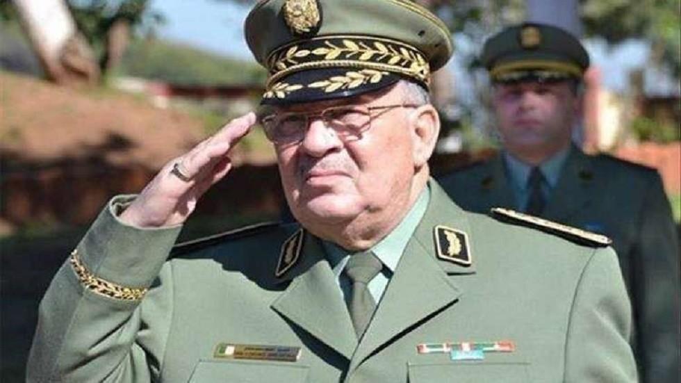 نائب وزير الدفاع قائد أركان الجيش الجزائري الفريق أحمد قايد صالح