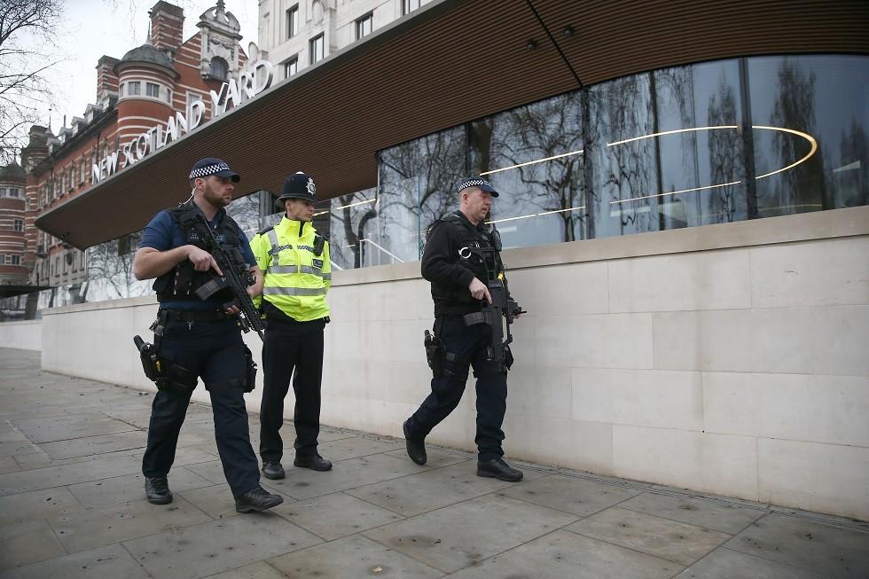 شرطة في بريطانيا - أرشيف -