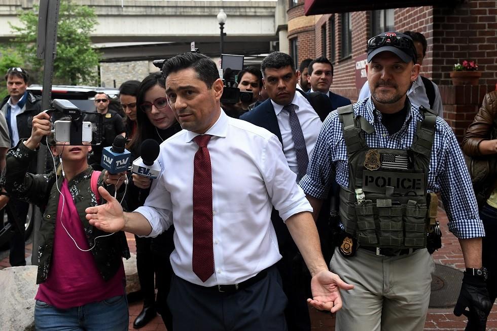 مبعوث المعارضة الفنزويلية يلتقي مسؤولين من البنتاغون ووزارة الخارجية الأمريكية