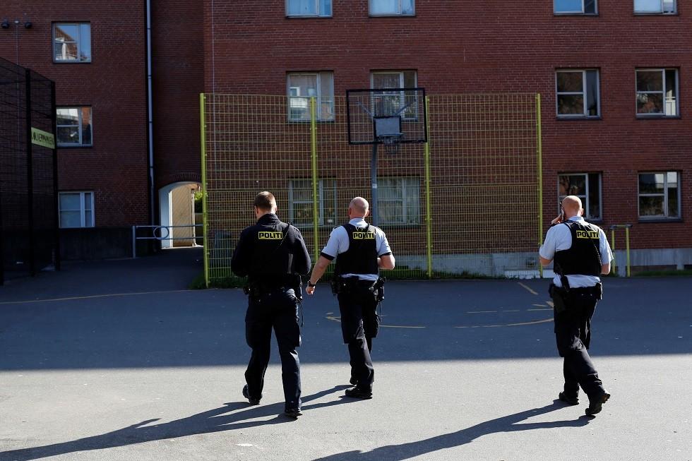 عناصر من الشرطة الدنماركية - أرشيف -