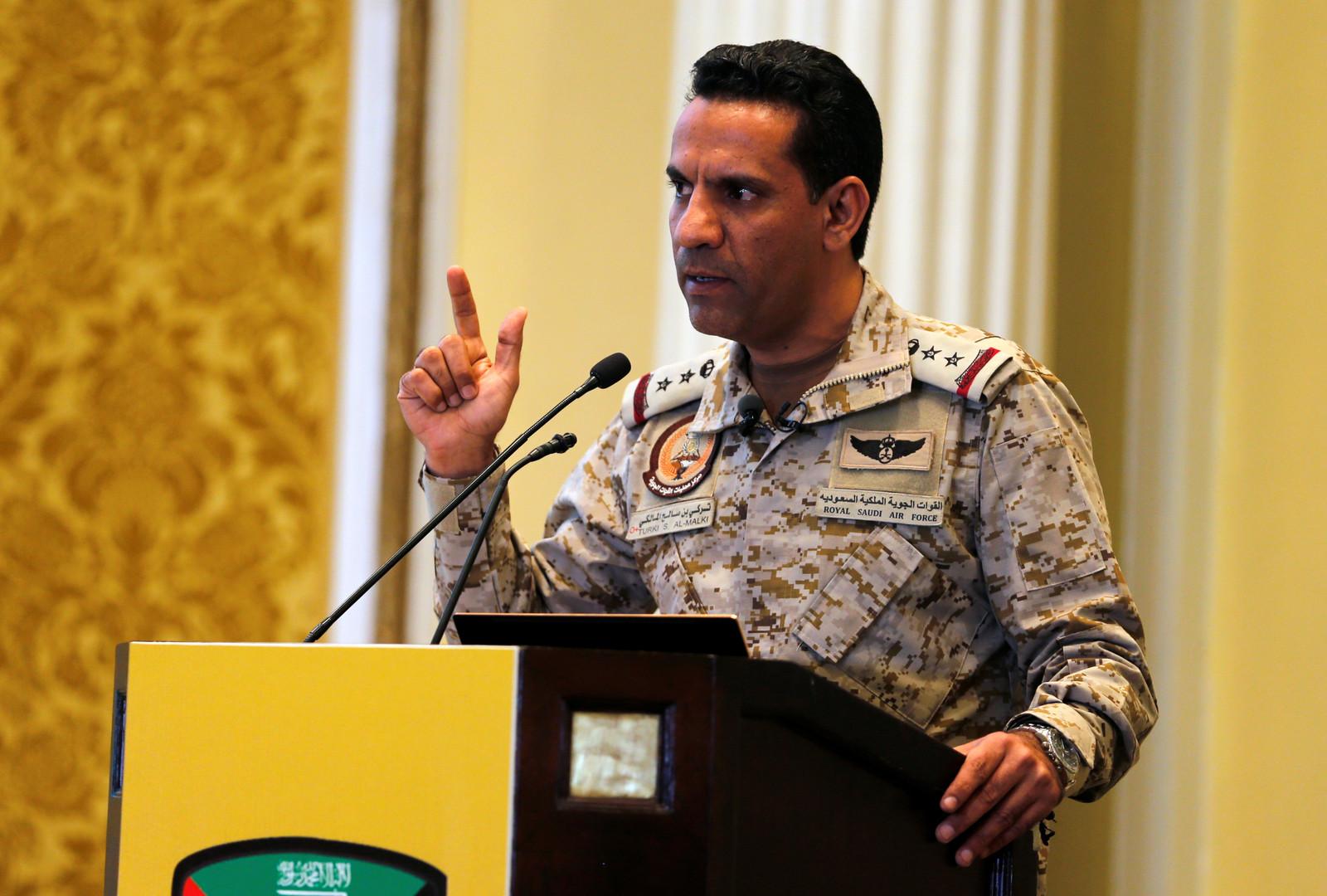 المتحدث الرسمي باسم قوات التحالف في اليمن تركي المالكي