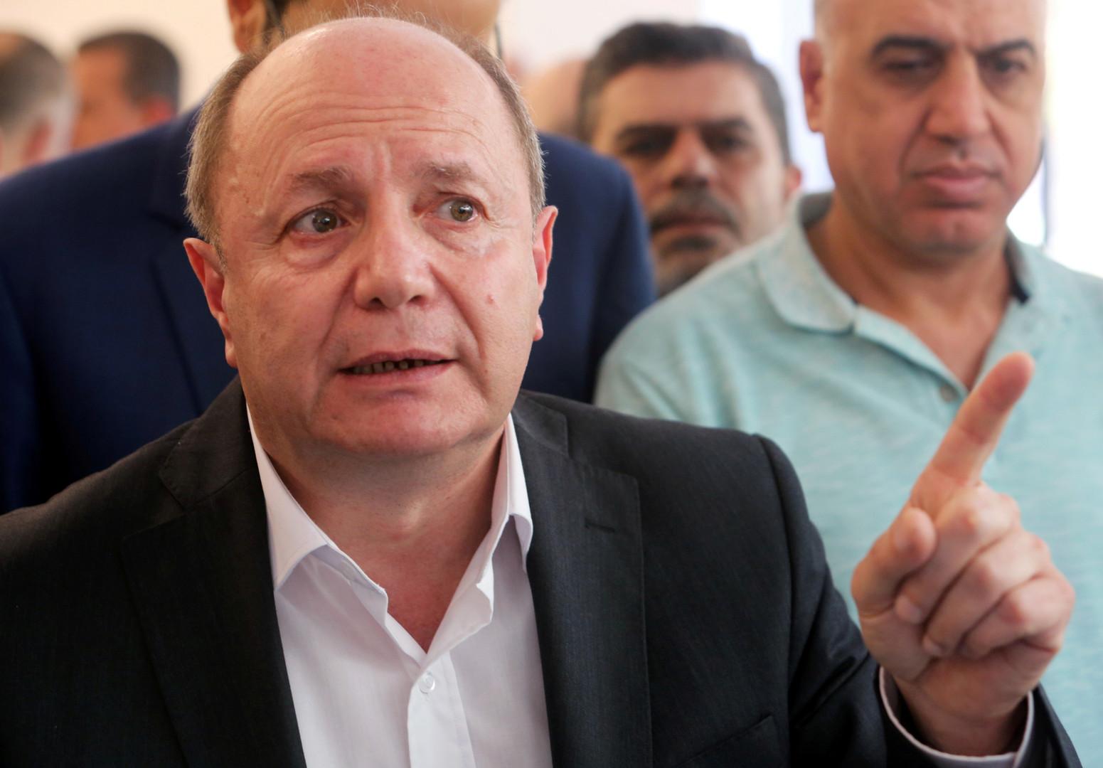 رئيس الاتحاد العمالي العام المستقيل في لبنان