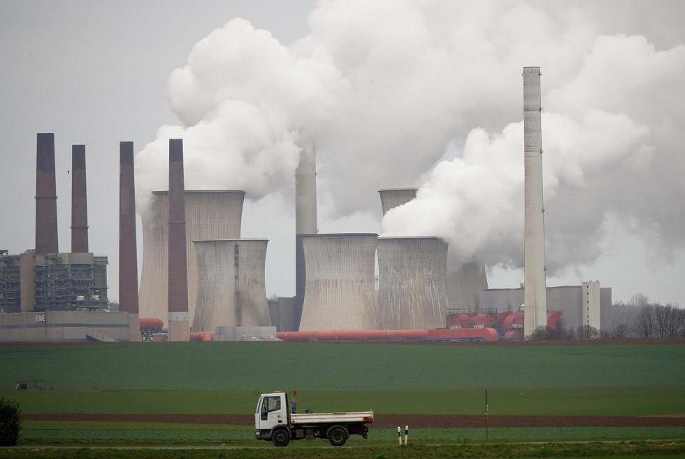 محطات لتوليد الطاقة الكهربائية تعمل بالفحم الحجري، كولونيا، ألمانيا