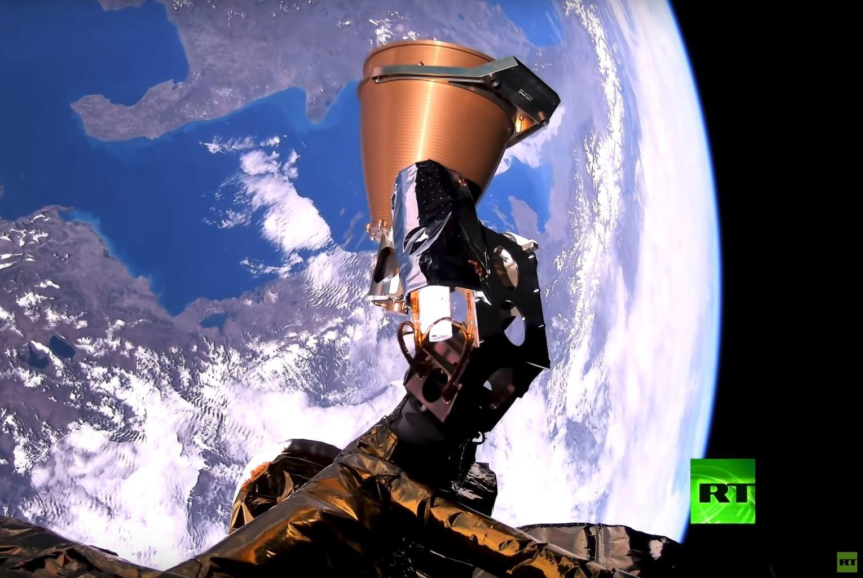 ما هي التقنية التي التقطت أول فيديو من نوعه في العالم لكوكب الأرض من قمر مصر الصناعي؟
