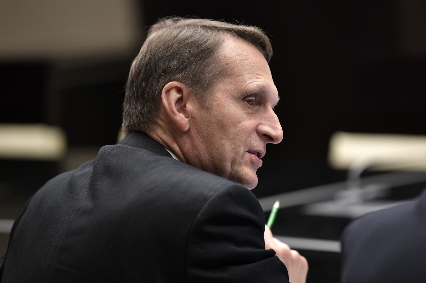 مدير مصلحة الاستخبارات الخارجية الروسية، سيرغي ناريشكين