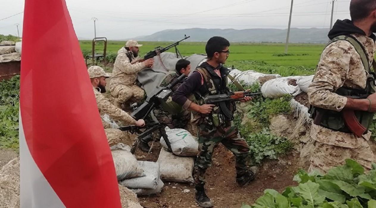 أفراد الجيش السوري
