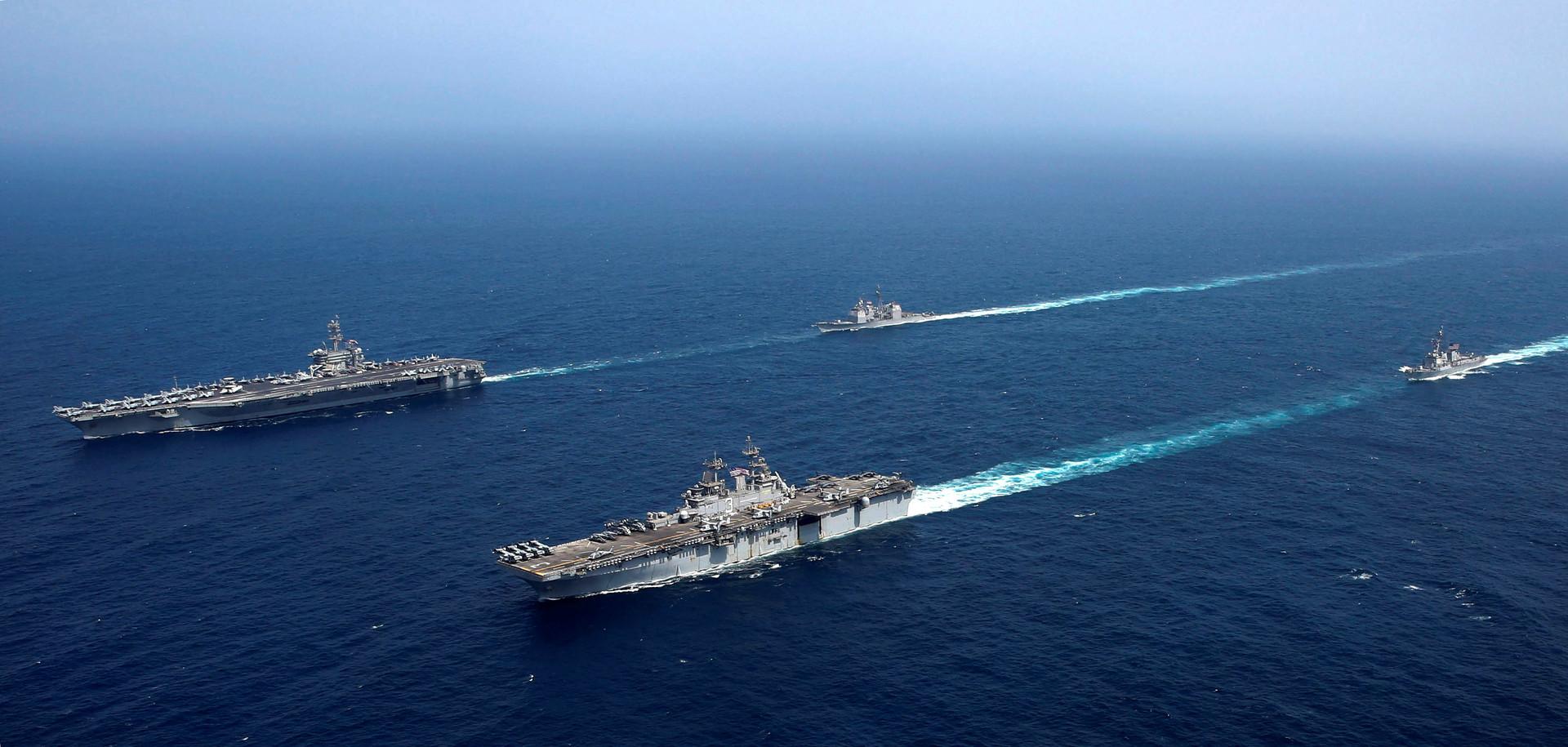 البنتاغون: أحبطنا هجمات على قواتنا في الخليج ولن نشن حربا على إيران