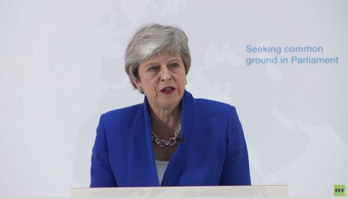 ماي تعلن عن اتفاق جديد لبريكست