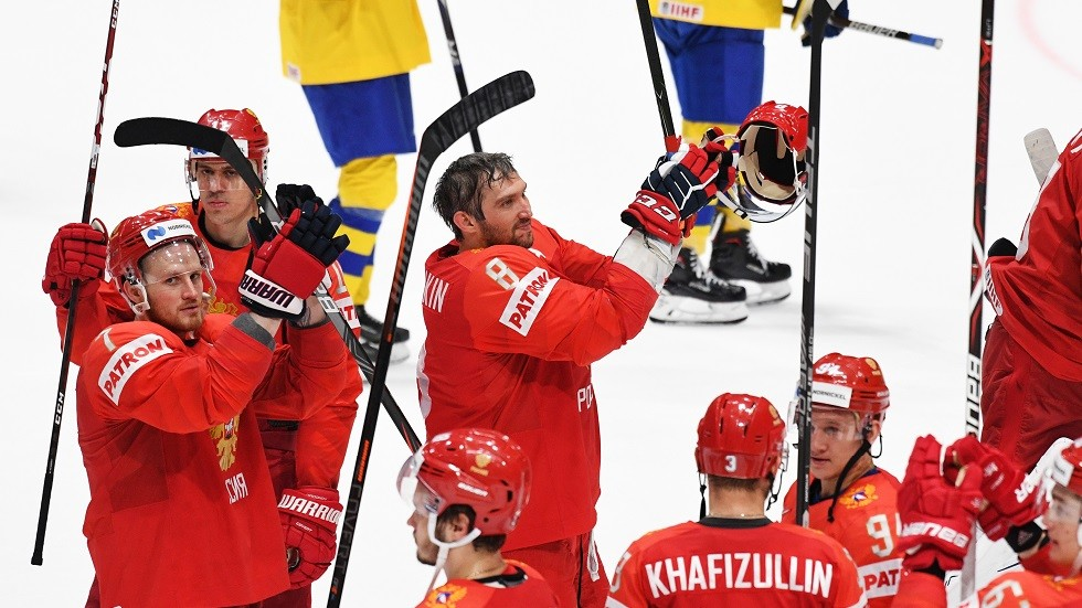 روسيا تكتسح السويد بسباعية وتواجه الولايات المتحدة في ربع نهائي بطولة العالم للهوكي (فيديو)
