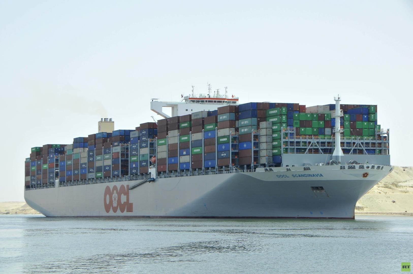 حركة الملاحة بقناة السويس تحقق رقما قياسيا (صور)