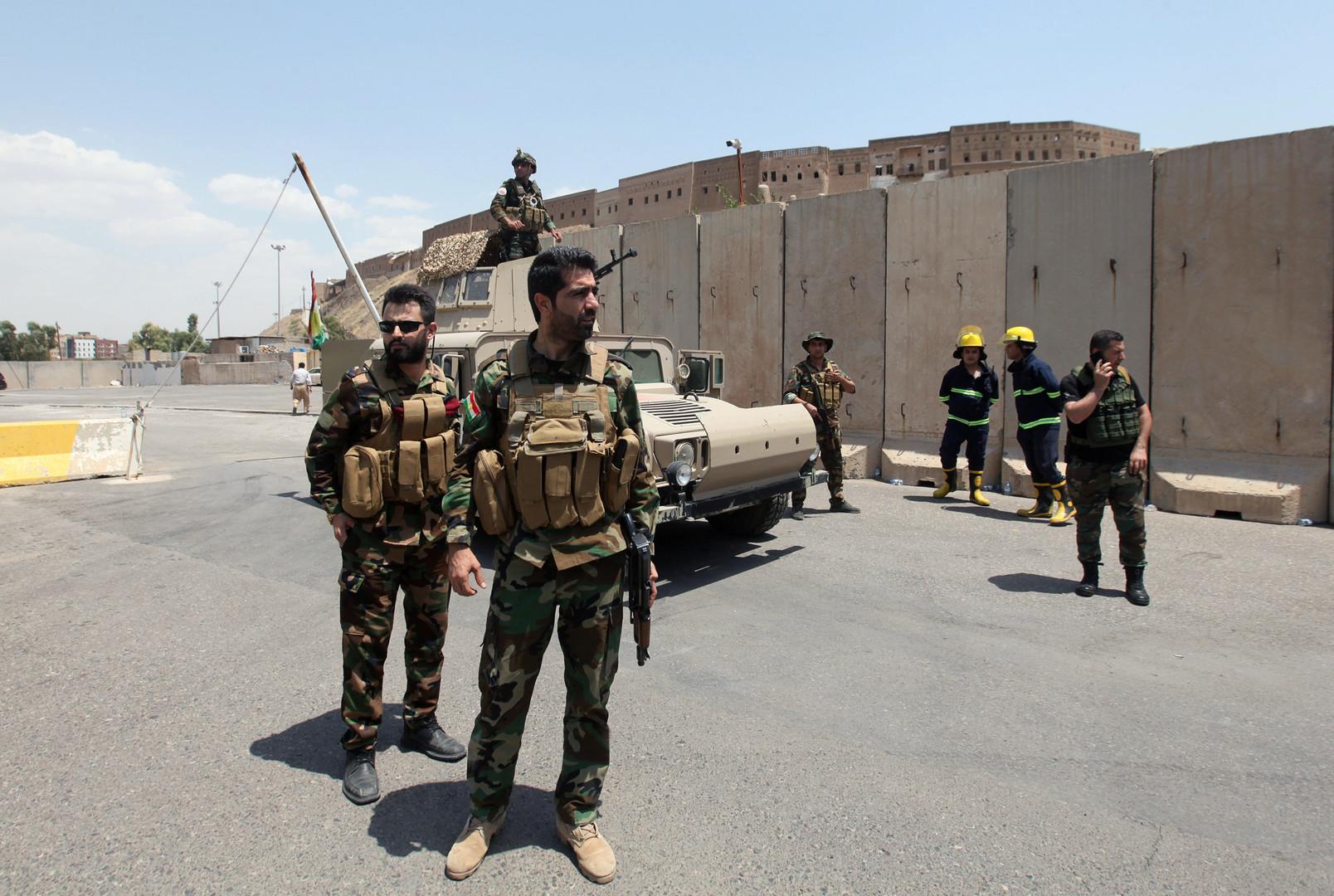 قوات الأمن العراقية تلقي القبض على