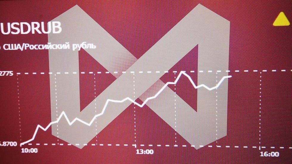 الروبل يصعد وبورصة موسكو تحلق إلى مستويات قياسية