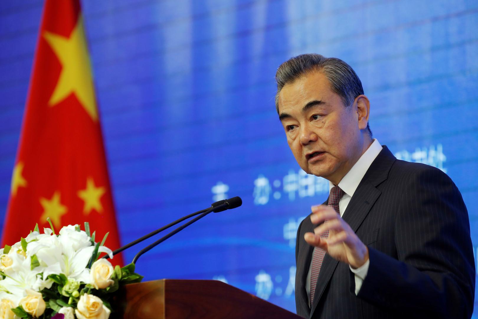 وزير الخارجية الصيني، وان يي