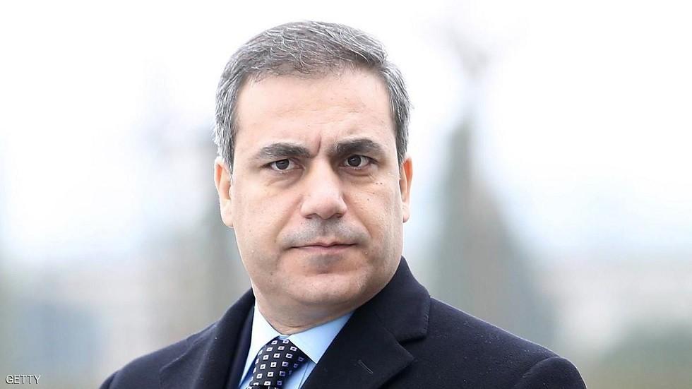هاكان فيدان رئيس الاستخبارات التركية