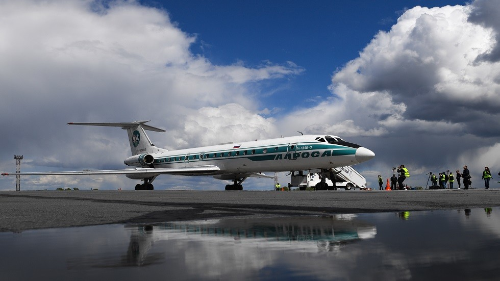 أسطورة الطيران المدني الروسي حلقت برحلة الوداع