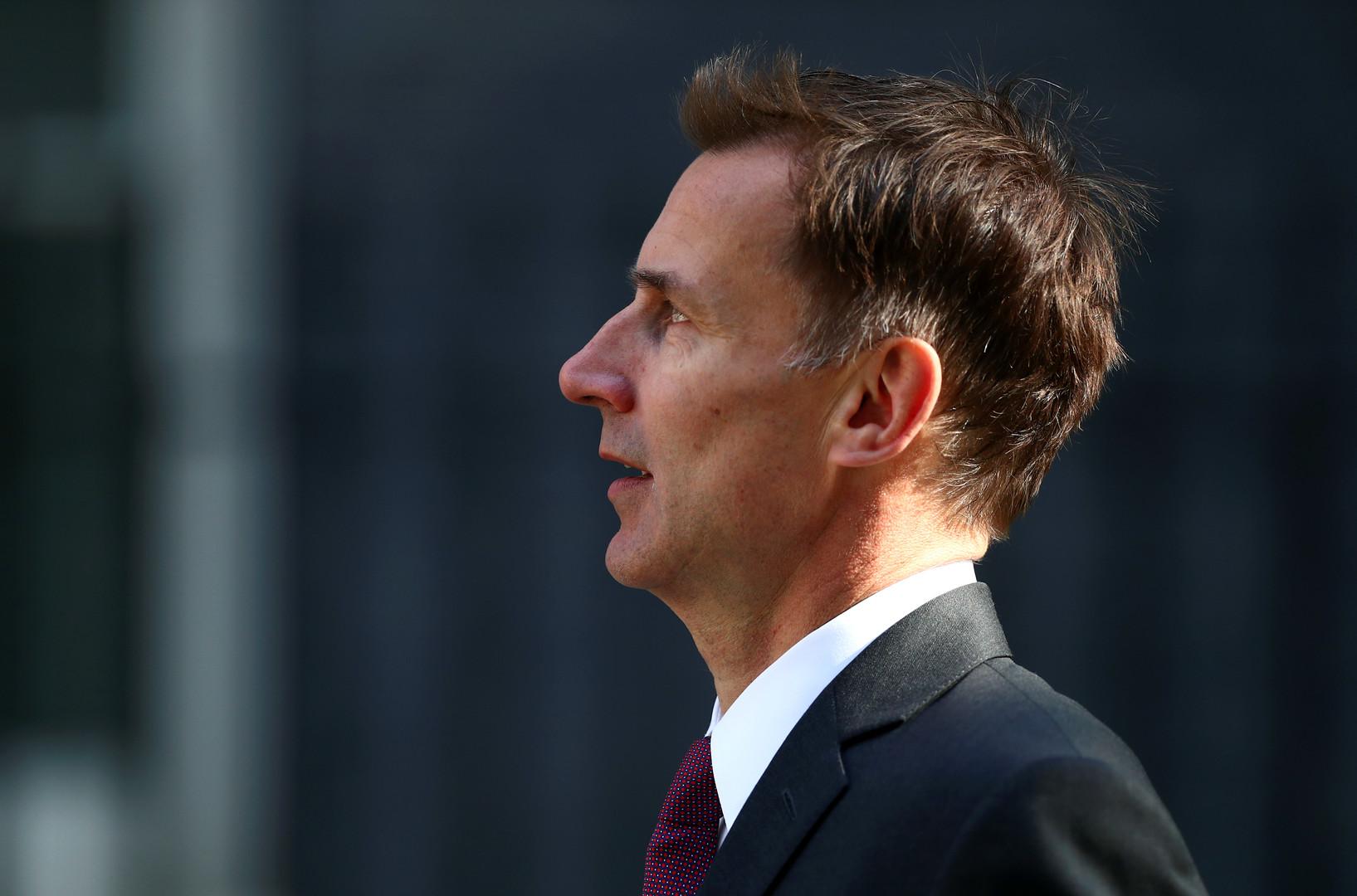 جيريمي هانت وزير الخارجية البريطاني-أرشيف
