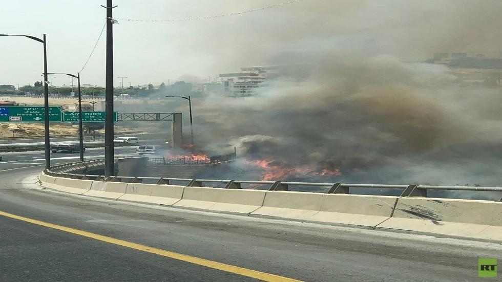 حرائق في القدس بسبب ارتفاع الحرارة