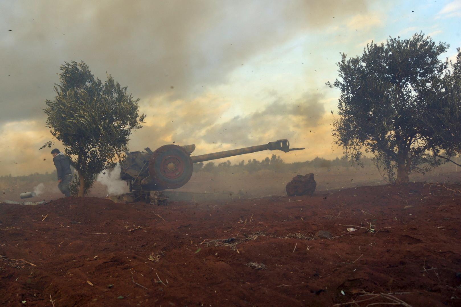 صورة أرشيفية من المعارك في سوريا