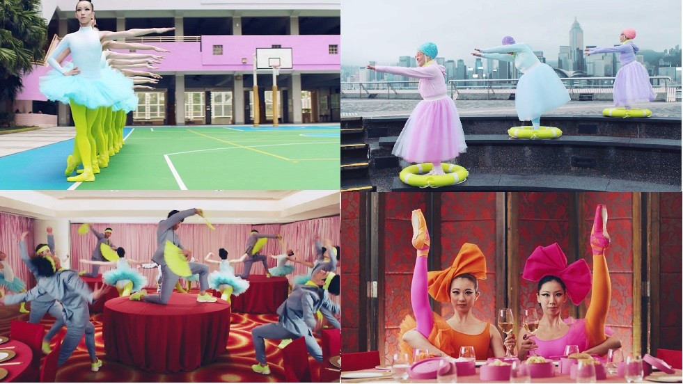 عرض رائع لفرقة باليه هونغ كونغ في موسمه الـ40