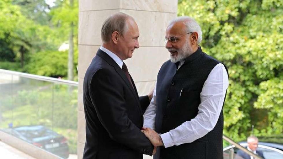 مودي يشكر بوتين وينتظر لقاءه!