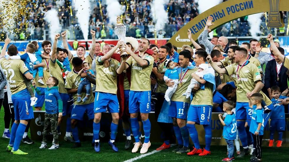 زينيت بطل الدوري الروسي يعسكر في تونس لأول مرة في تاريخه