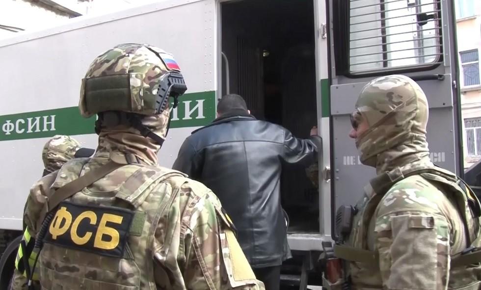 أرشيف - عناصر من هيئة الأمن الفدرالي الروسي