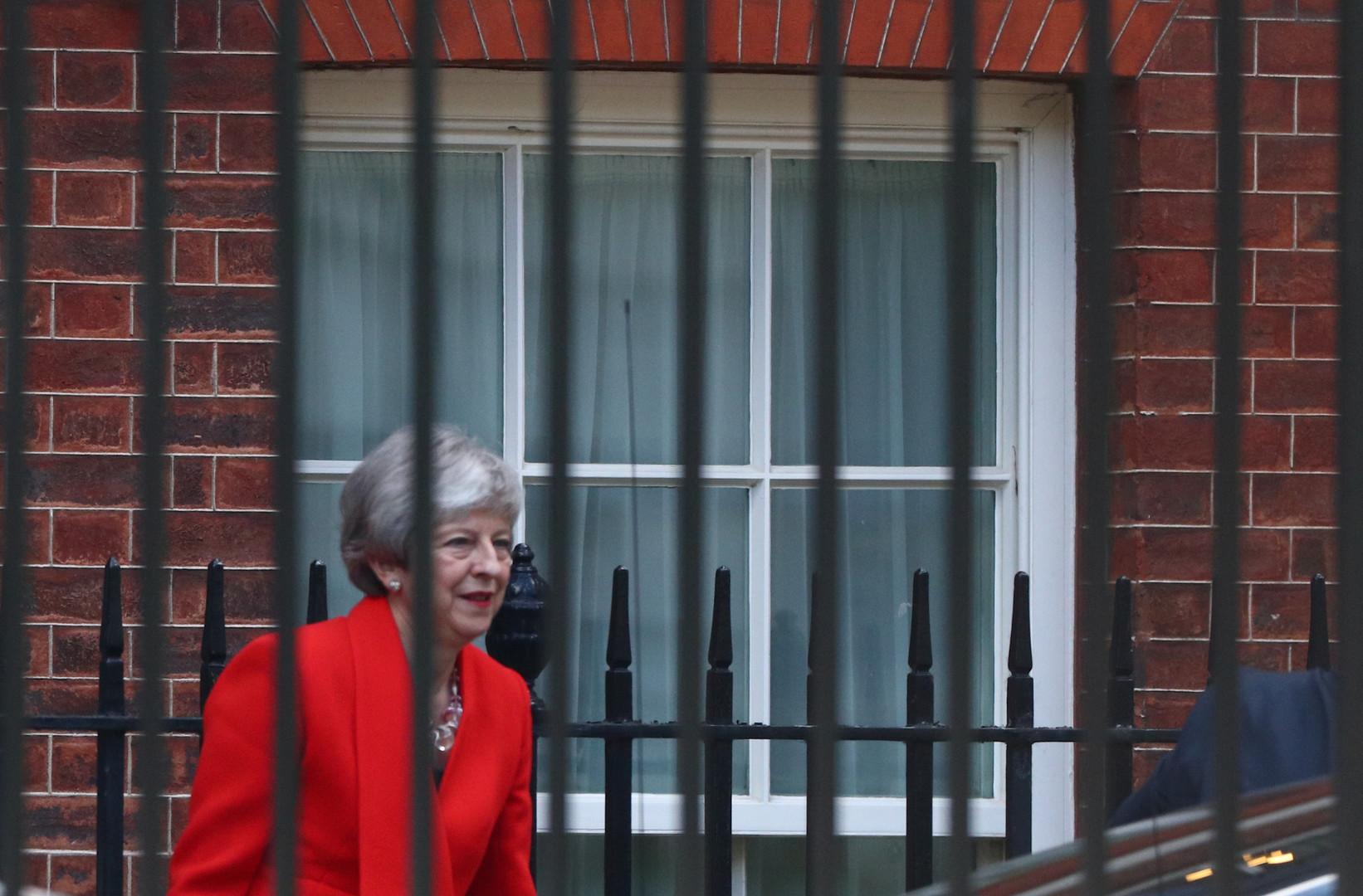 استقالة رئيسة وزراء بريطانيا