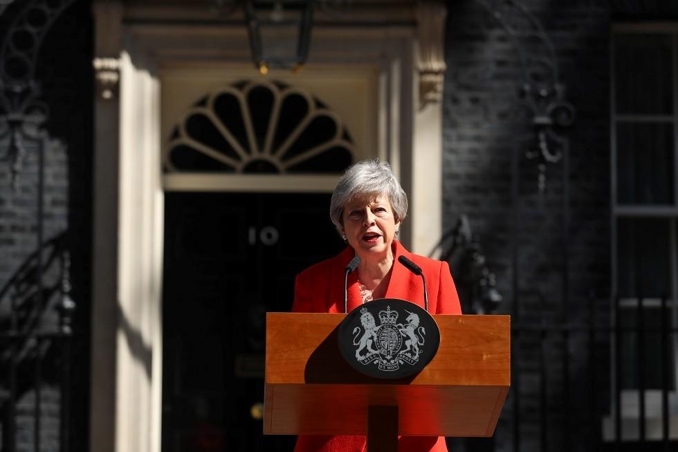 رئيسة وزراء بريطانيا تيريزا ماي، 24 مايو 2019