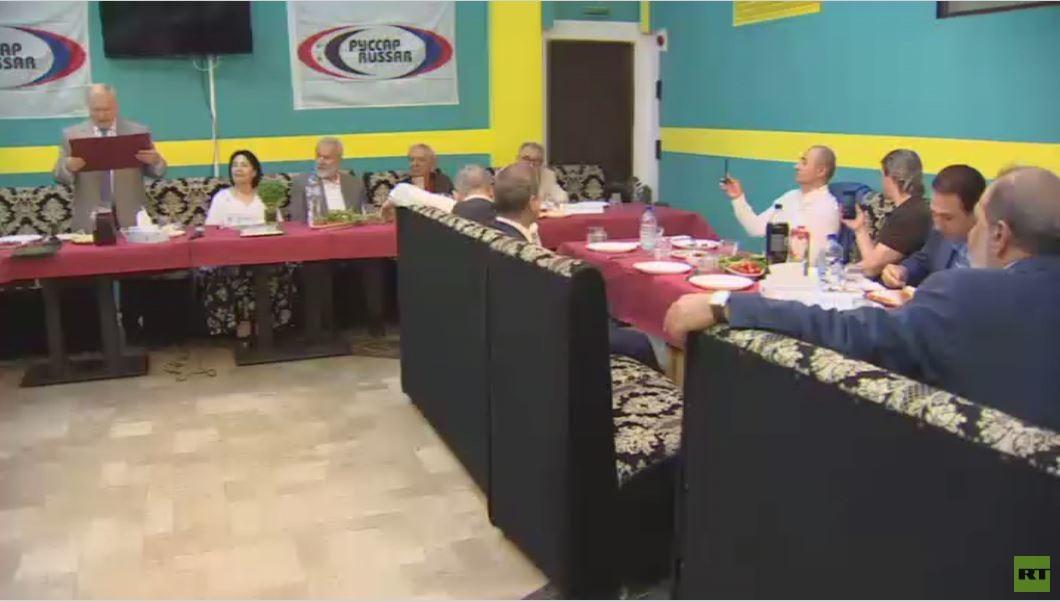 جمعية  روسار  الخيرية الروسية الناشطة في سوريا تحتفي بعيد تأسيسها الـ5 -