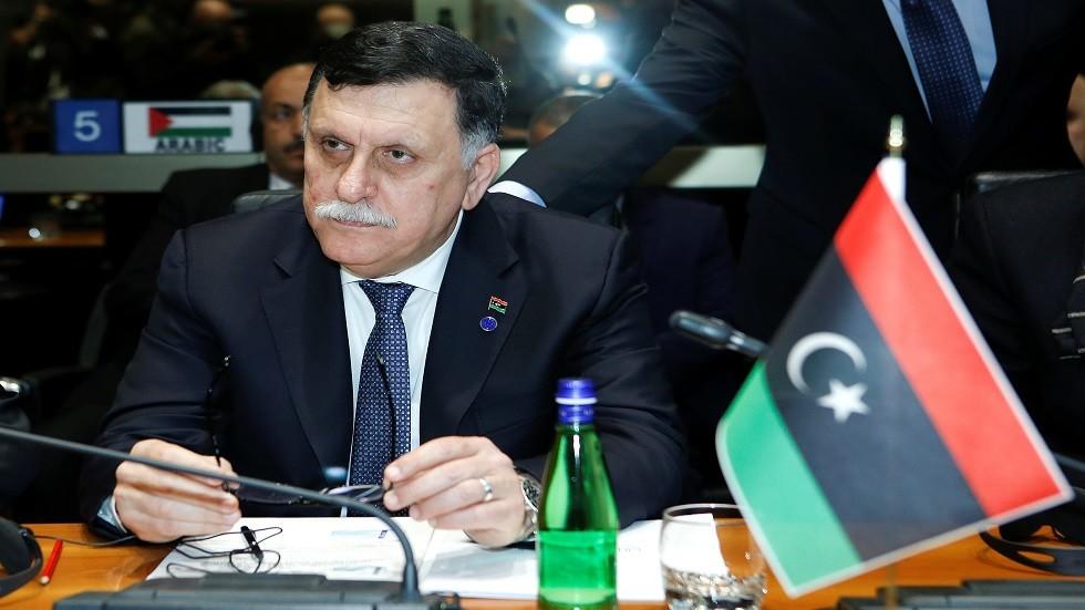 السراج يشيد بدعم الجزائر لحكومة الوفاق الوطني الليبية