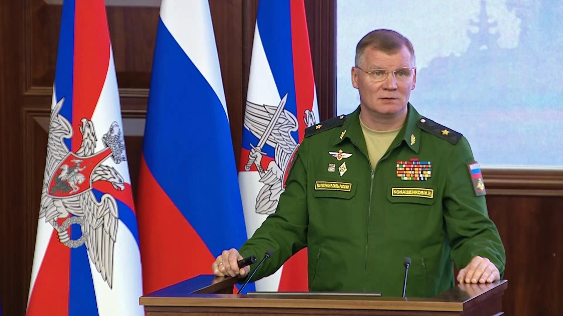 الدفاع الروسية تنفي مزاعم وقوع هجمات كيميائية في منطقة خفض التصعيد بإدلب السورية