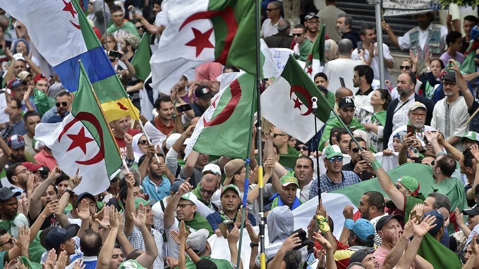 استمرار التظاهرات الاحتجاجية في الجزائر