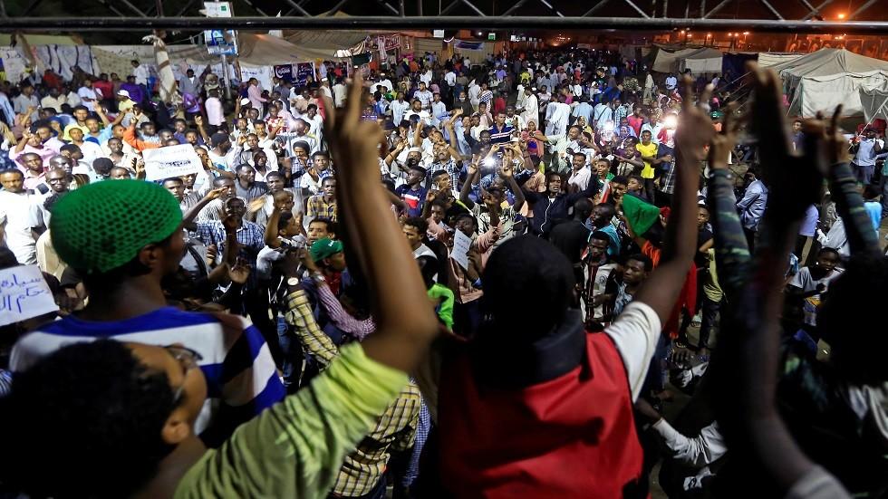 استمرار الاحتجاجات في السودان