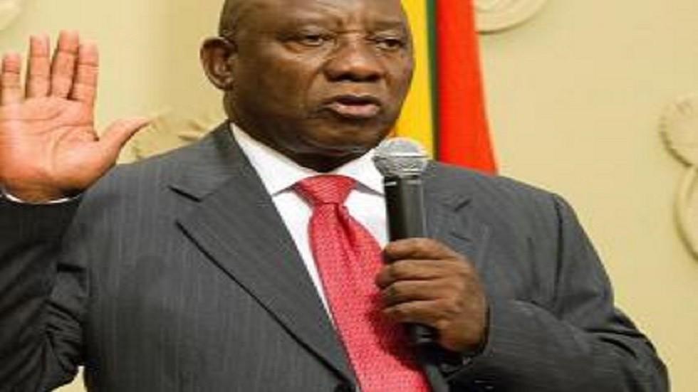 سيريل رامافوسا يفوز مجددا في الانتخابات الرئاسية بجنوب افريقيا