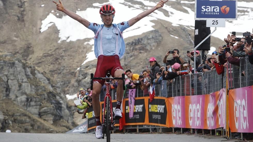 فوز الروسي زكارين بالمرحلة 13 من سباق إيطاليا