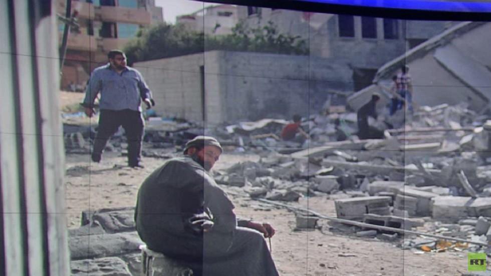 غزة تعيد تدوير أنقاض المباني المدمرة