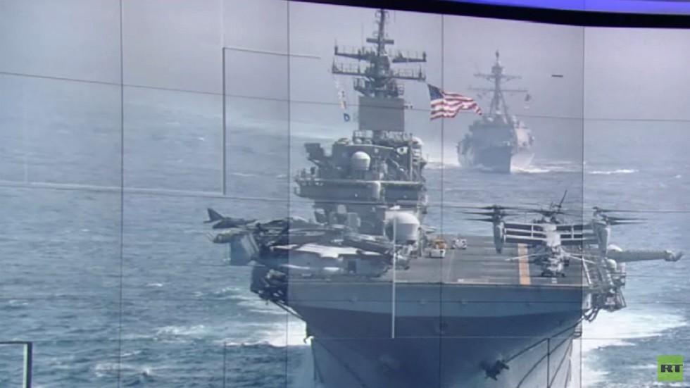 الحرس الثوري: بوسعنا إغراق سفن واشنطن