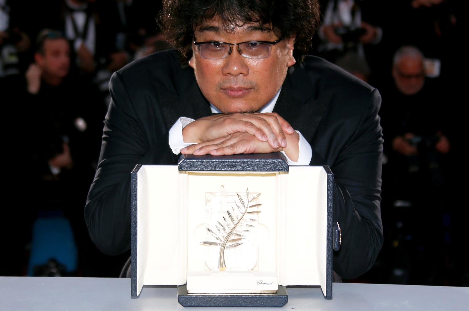 المخرج الكوري الجنوبي الفائز بالسعفة الذهبية في مهرجان كان