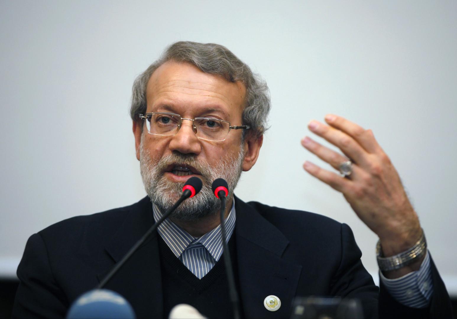 انتخاب لاريجاني رئيسا للبرلمان الإيراني لولاية جديدة