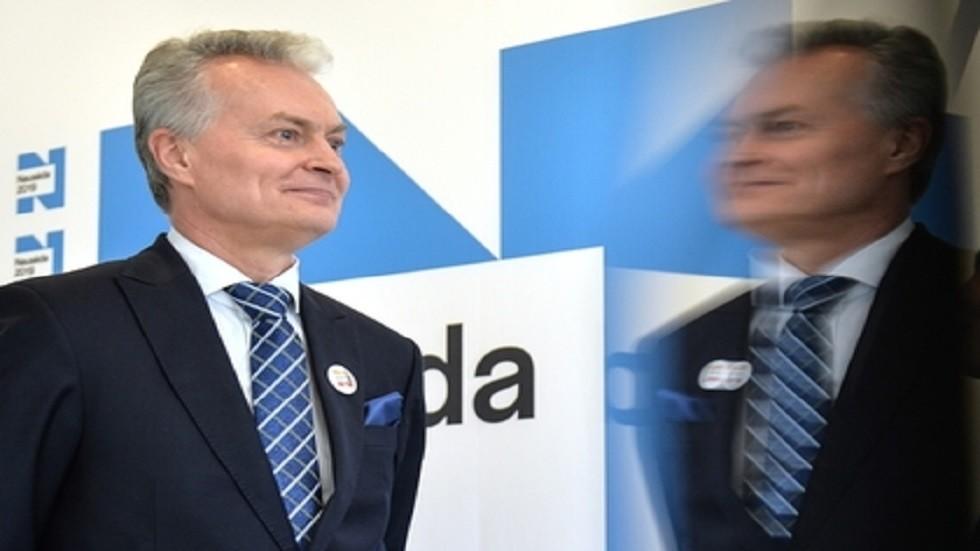 المرشح الرئاسي في ليتوانيا غيتيناس نوسيدا