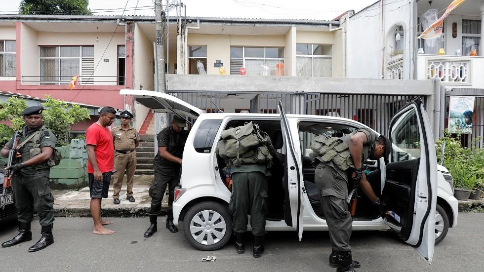 حملات تفتيش أمني في سريلانكا