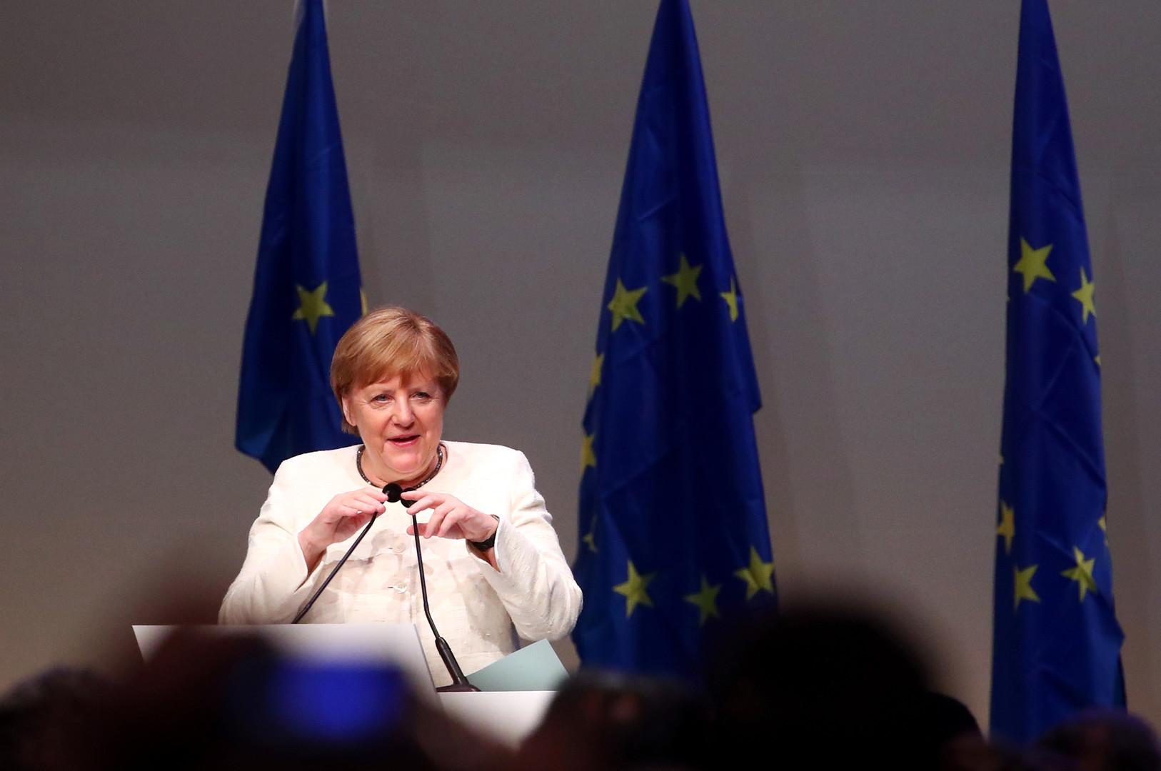 الانتخابات البرلمانية الأوروبية.. تحالف ميركل يحقق أسوأ نتائج في تاريخه